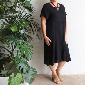 Charlie Shift Dress - Linen Blend