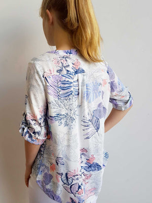 Chelsea Blouse - Botanical