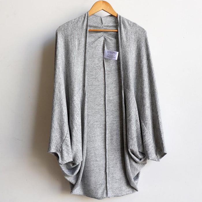 Cocoon Cardigan Top - Knit