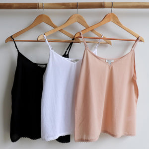 Cotton Camisole Top in Petite to Plus Sizes