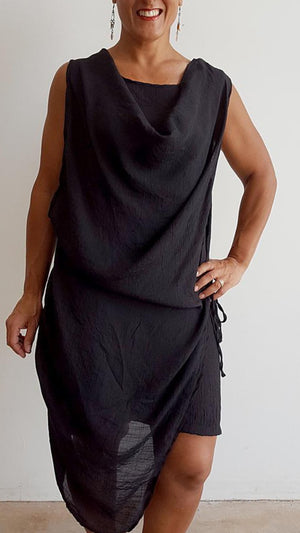 Cascade Tunic Dress