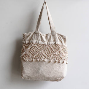 Fleetwood Cotton Tote Handbag