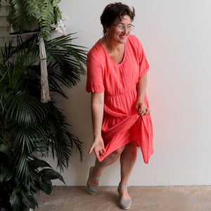 Free To Be Me Tier Dress - Plus Size