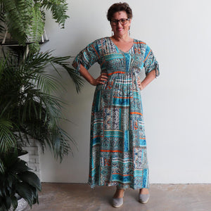 Magic Happens Kaftan Maxi Dress