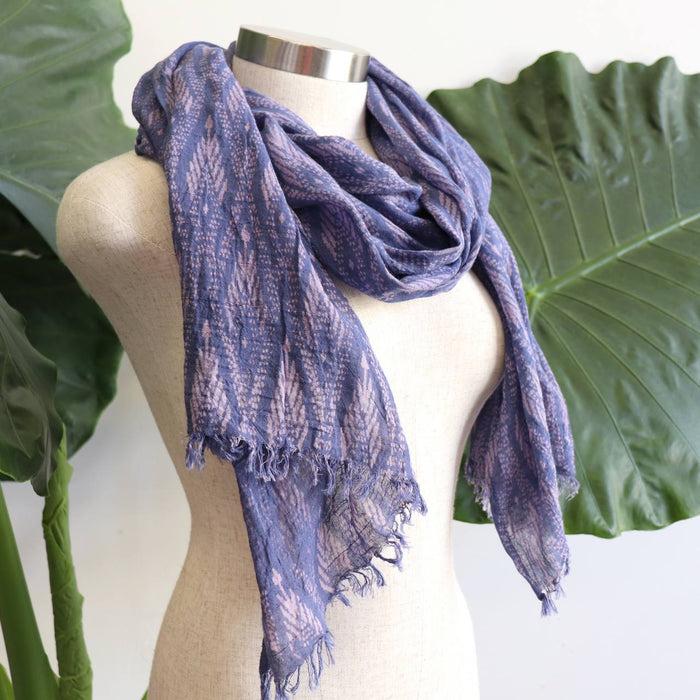 In the Atmosphere Cotton Scarf