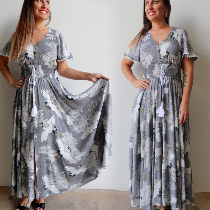 Isabelle Gown Dress - Come Fly With Me