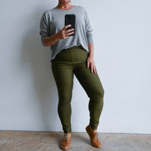 Long Capri Pants - Double Stretch