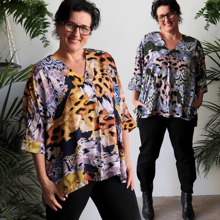 Lucy In The Sky Blouse - On Safari