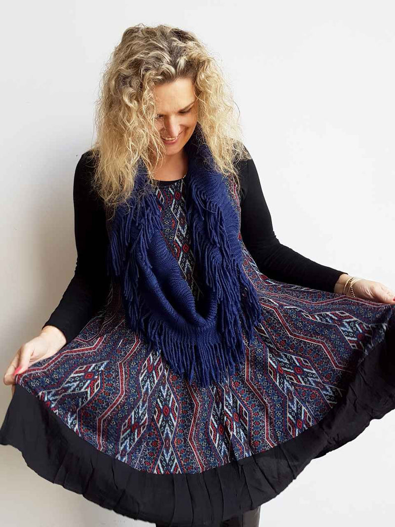 Dreamtime Winter Tunic