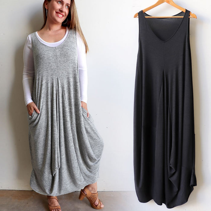 One Step Closer Maxi Dress - Knit