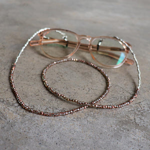 Peeper Keepers Glasses Necklace - Crystal