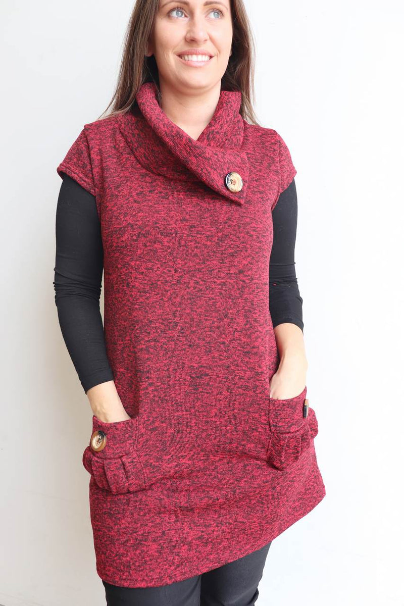 Peggy Pocket Tunic - Fleece