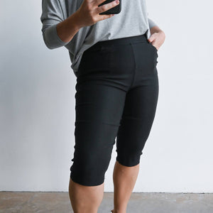 Short Capri Pant - Double Stretch