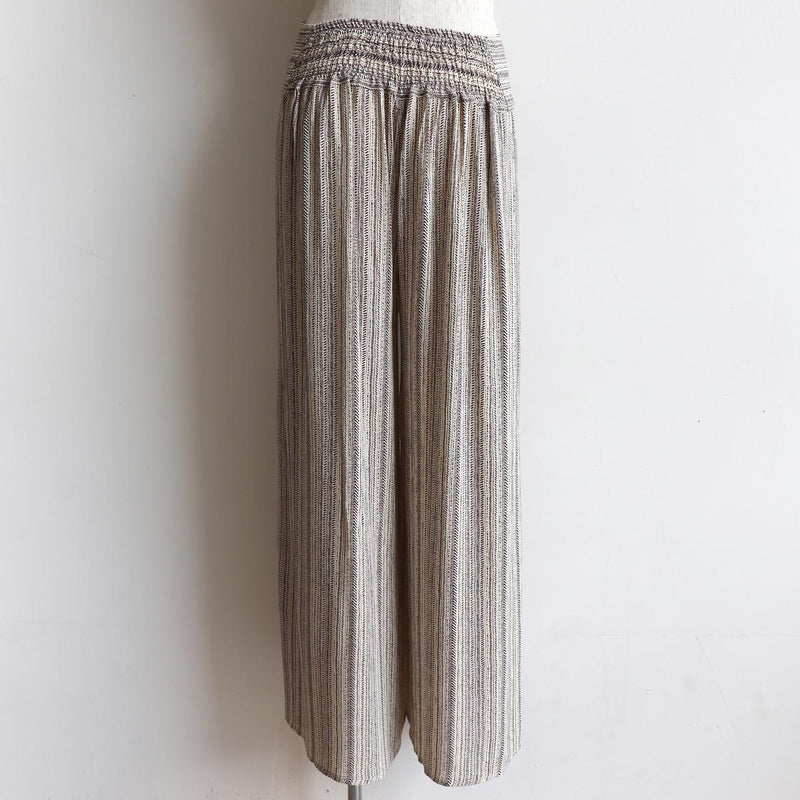 Sorrento Wrap Pant - Herringbone