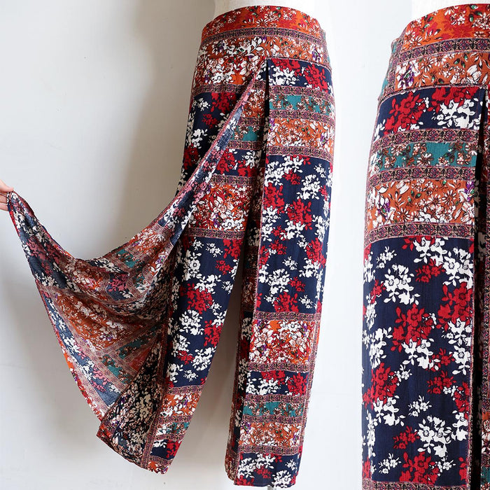 Sorrento Wrap Pants - Spice