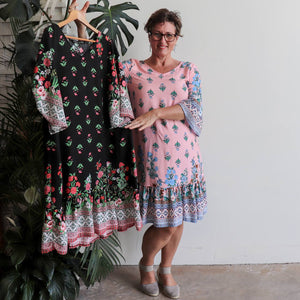 The Charleston Dress - Springtime Floral
