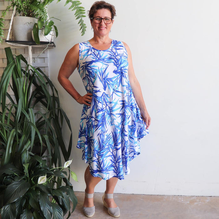 The Ideal Sun Dress - Bamboo Leaf