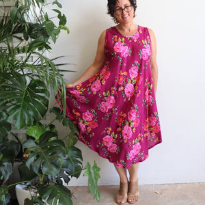 The Ideal Sun Dress - English Rose