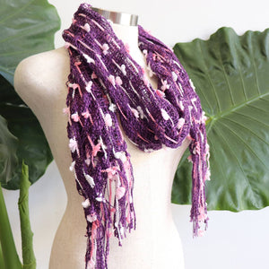 The Jindy Scarf - Purple.