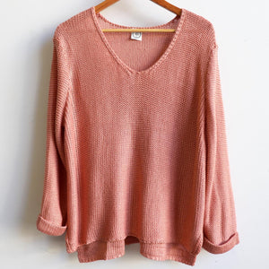 V-neck Knit Jumper Top