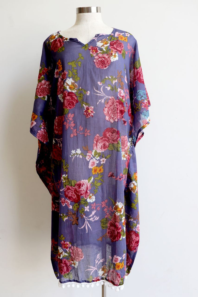 The Beach Kaftan - Vintage Floral