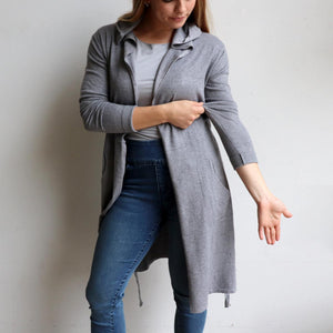 Winner Takes It All Hooded Cardigan