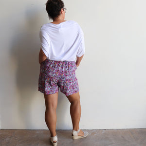Zen Drawstring Shorts - Above-the-knee - Wildflower