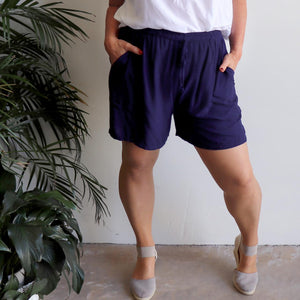 Zen Drawstring Shorts - Above-the-knee