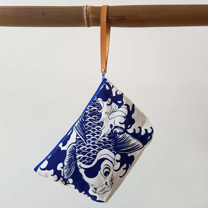 Anything Goes Clutch Bag - Koi