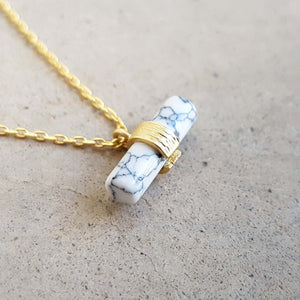 La Luna Rock Necklace Jewellery Gold Chain  Balance