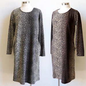 High Country Winter Tunic Dress - Animal Print