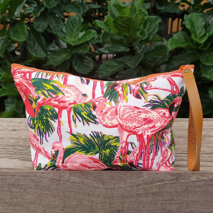 Anything Goes Clutch Bag - Flamingo