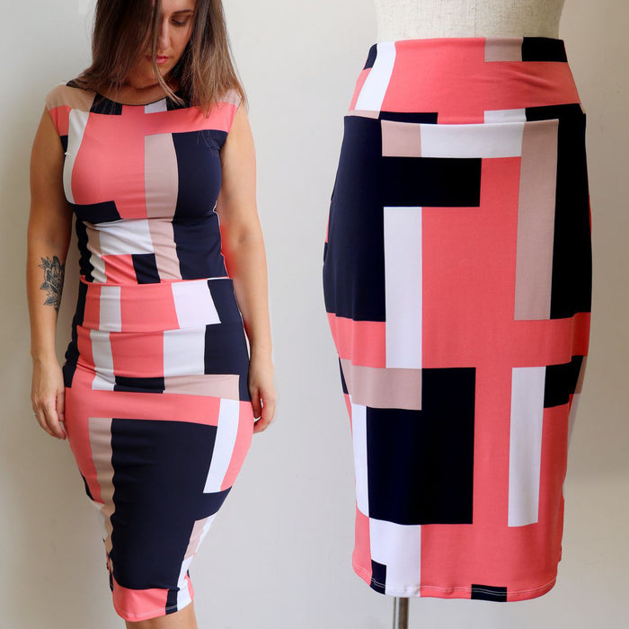Abstract Tube  Skirt