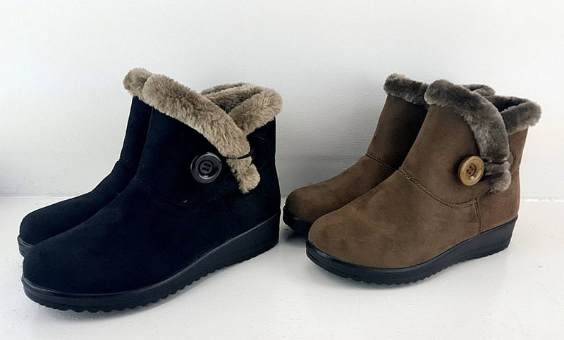 Woolly Ankle Boots