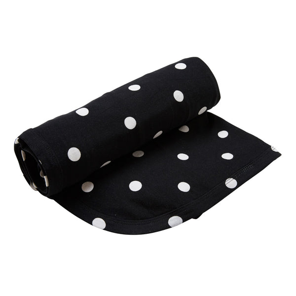 Kipp Kids Swaddle/Blanket - Dot It Black/White