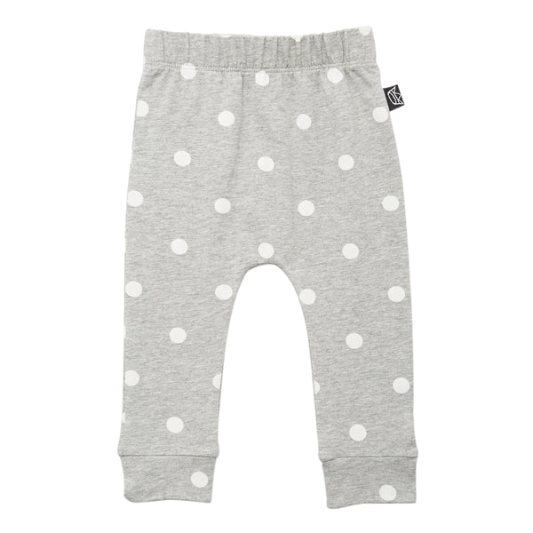 Kipp Kids Pants - Dot It Grey/White