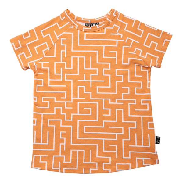 Kipp Kids T-Shirt - Maze Melon/White