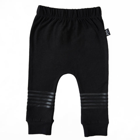 Kipp Kids Five Stripe Pant - Black/Black