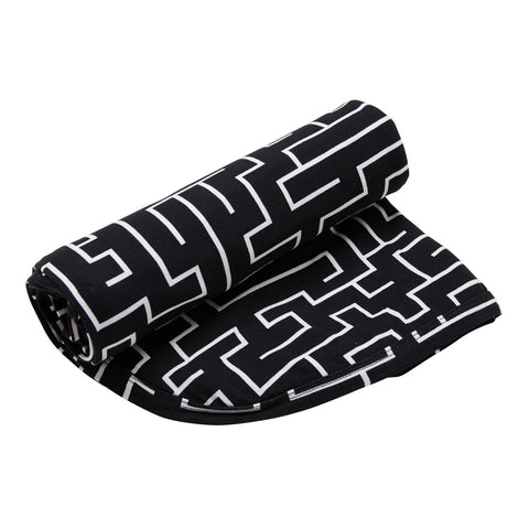 Kipp Kids Swaddle/Blanket - Maze Black/White