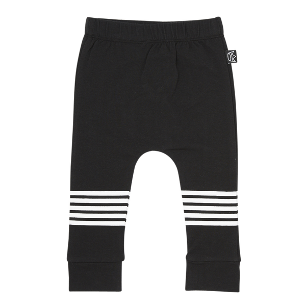Kipp Kids Five Stripe Pant in Black