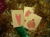 Contemporary Christmas Gift Card Pack - Swank Creations - 3