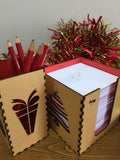 xmas pen box - Swank Creations - 2