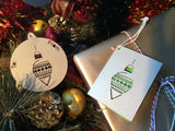 Sassy Christmas Bauble Gift Tags - Swank Creations - 2