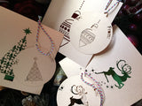 Sassy Christmas Bauble Gift Tags - Swank Creations - 3