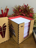 xmas pen box - Swank Creations - 7