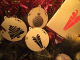 Contemporary Bauble Gift Cards - Swank Creations - 2