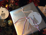 Sassy Christmas Bauble Gift Tags - Swank Creations - 1