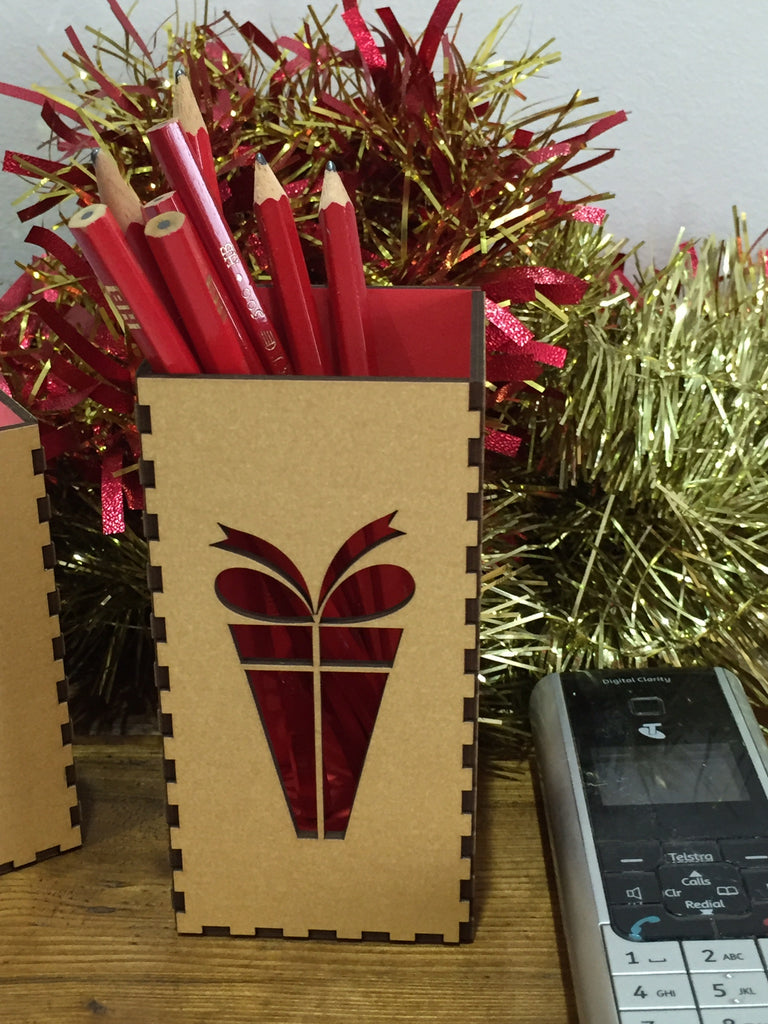 xmas pen box - Swank Creations - 1