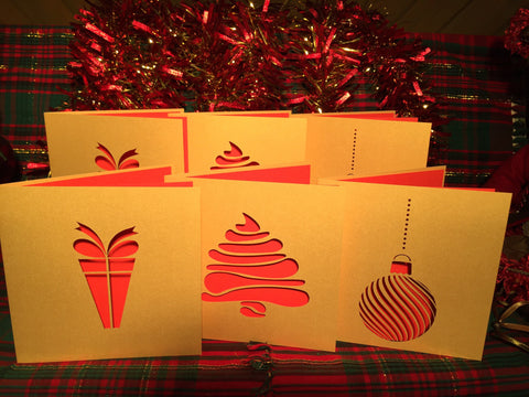 Contemporary Christmas Card Pack