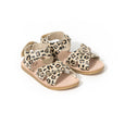 pretty brave child sandal leopard pair